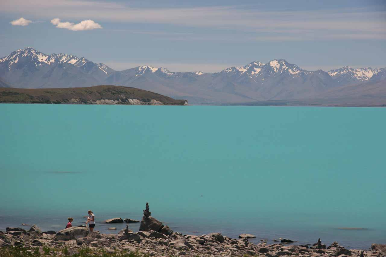 We then passed by the colourful Lake Tekapo