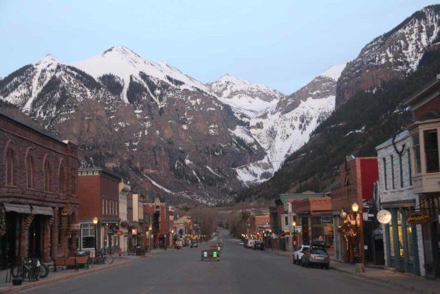 Telluride_033_04162017 - The Rocky Mountain town of Telluride reminded Julie and I of the kind of scenery more typically associated with the Swiss Alps