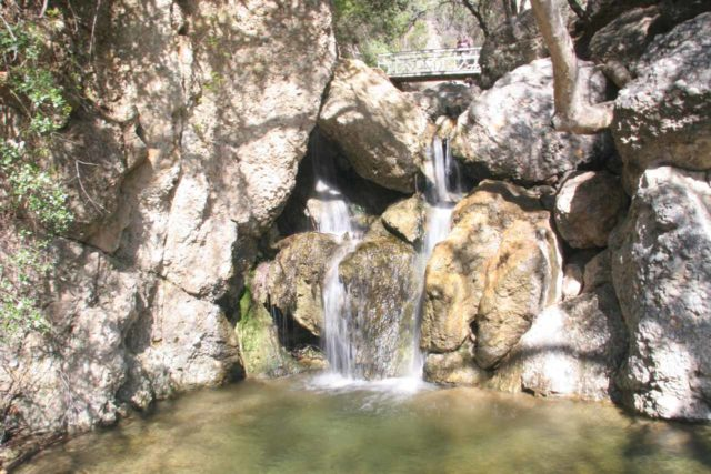 Temescal_Canyon_Falls_015_03142010 - One of the drops of Temescal Canyon Falls