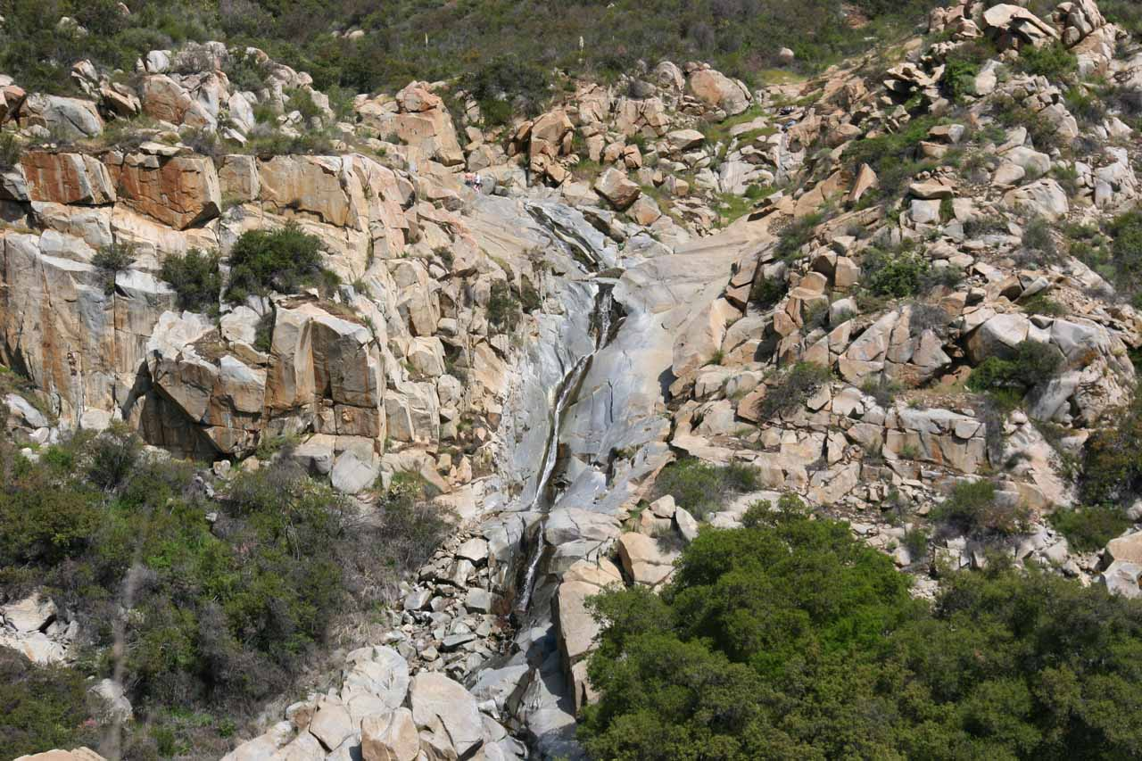 Contextual view of Tenaja Falls