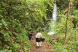 Tendaki_081_10222016 - Mom and Dad descending towards perhaps the most notable of the intermediate waterfalls en route to the Tendaki Waterfall. This one was I believe the seventh one identified by the signs