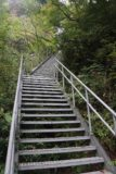 Tendaki_166_10222016 - Looking up at the metal steps comprising part of that final climb to the Tendaki Lookout