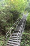 Tendaki_169_10222016 - Last look back up at the steps leading up to the main lookout for the Tendaki Waterfall