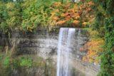 Tews_Falls_011_10132013 - Looking towards the beautiful Autumn colors adorning the top of the Tews Falls