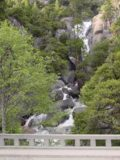 The_Cascades_004_05312002 - Looking down towards the bridge at the Upper Cascades during our late May 2002 visit