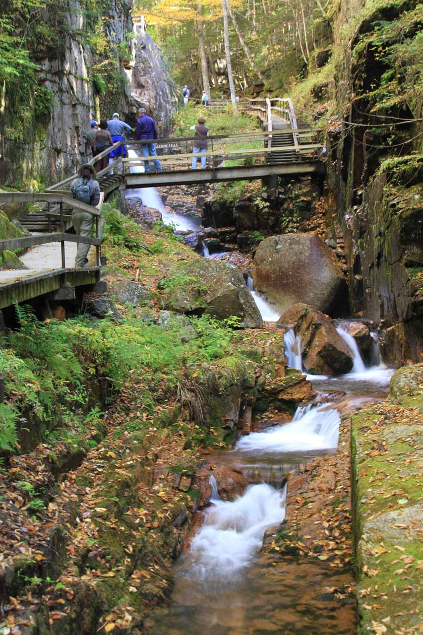 Waterfalls of the Flume