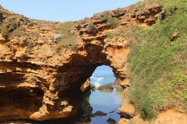 The_Grotto_028_11162017 - Nearly 9.5km east of the Bay of Islands Lookout was the Grotto, which featured this impressive sea arch