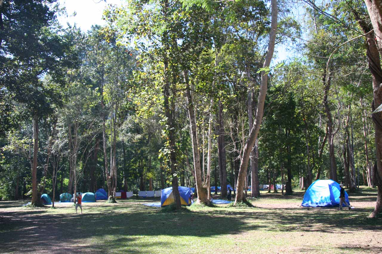Campground at Thi Lo Su