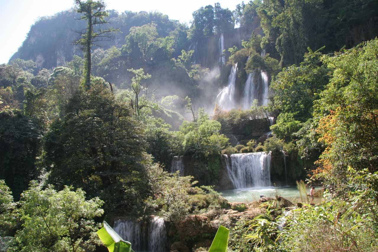 First look at the Thi Lo Su waterfall