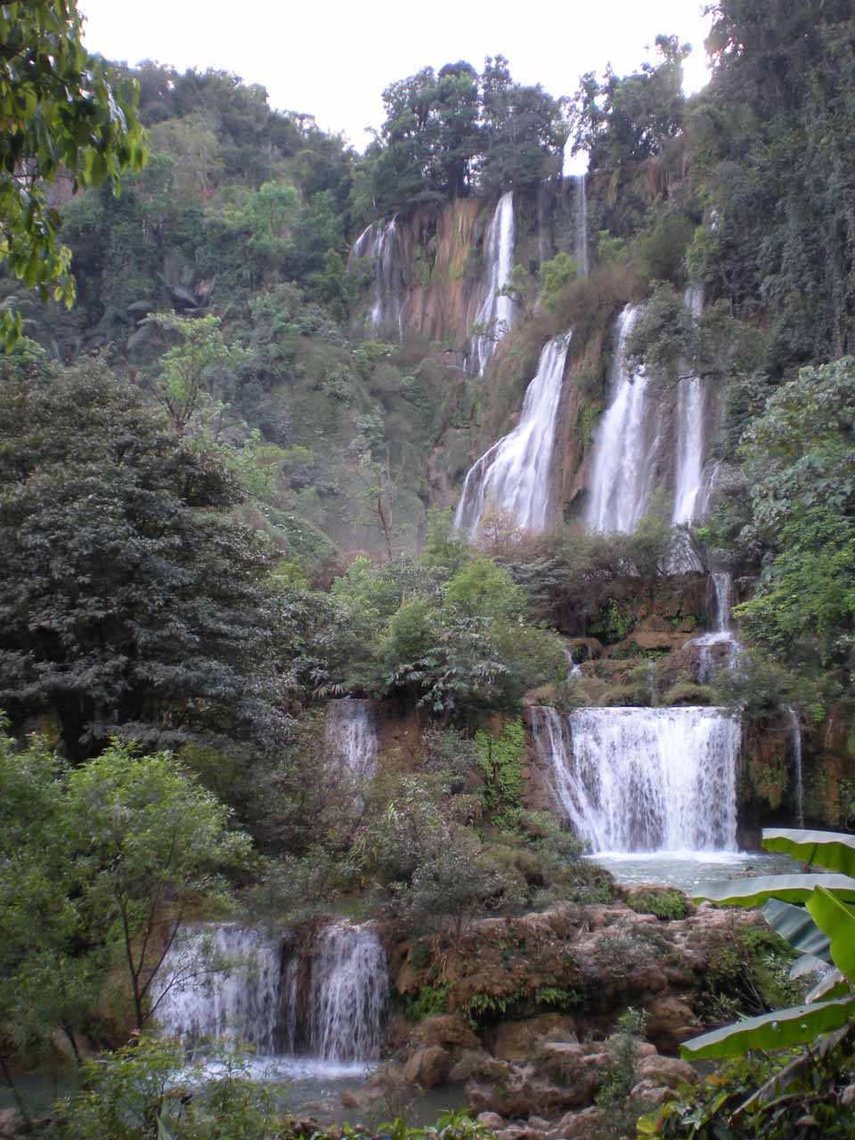 Our last look at the Thi Lo Su Waterfall before heading back to camp