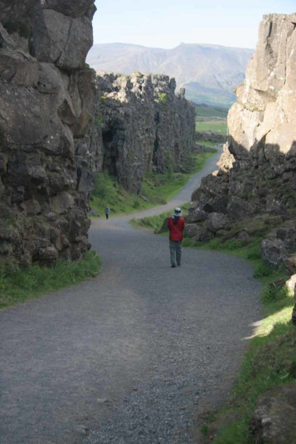 Thingvellir_040_06222007 - About 65km west of Gullfoss is the great rift valley and historical site of Þingvellir, where apparently assemblies and key decisions about the fate of the country were made