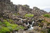 Thingvellir_122_08062021 - Closer look at that miscellaneous cascade feeding the Drowning Pool at Thingvellir