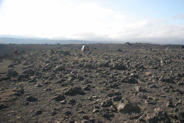 Thjofafoss_021_07082007 - Context of the desolate terrain where we parked the car near Þjófafoss
