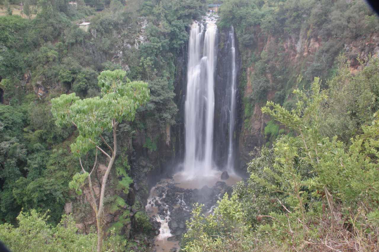 Last look at Thomson Falls