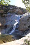 Three_Sisters_Falls_212_01242016 - Looking back at the profile of the middle Three Sisters Falls