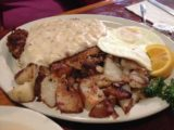 Thunder_Cafe_003_iphone_07122016 - Mom's order of Chicken Fried Steak from Thunder Cafe