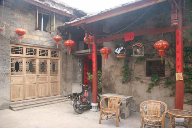 Tianlong_021_04262009 - After visiting Huangguoshu Waterfall, we visited Tianlong, which was one of the ancient towns near the city of Guiyang (the capital of the Guizhou Province)