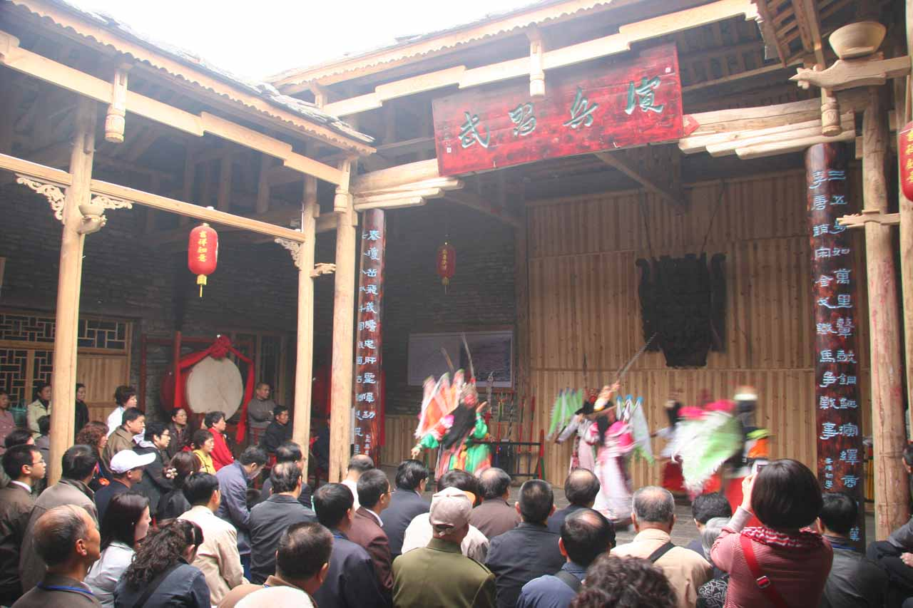 Performance at Tianlong