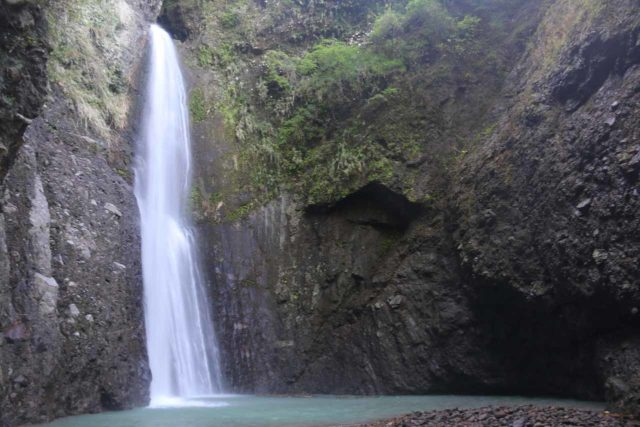 Tiefen_Waterfall_035_10272016 - The seclusion of the Tiefen Waterfall as it was practically surrounded on three sides by nearly vertical gorge walls