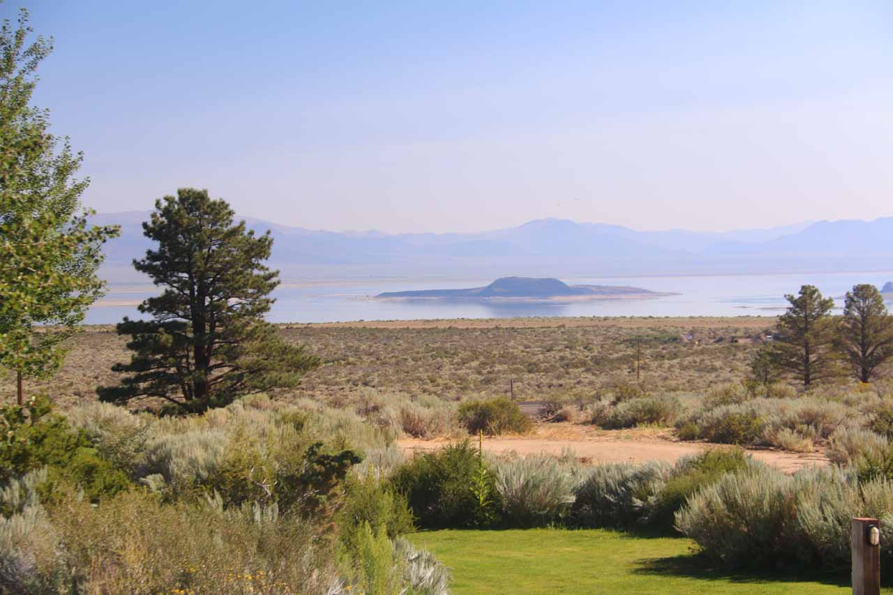 View of Mono Lake from the Tioga Gas Mart