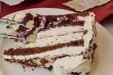 Titisee_017_06212018 - This was the decadent Black Forest Cake served up at Bergsee in Titisee. It could very well have been the best one that we've had on this trip when all was said and done