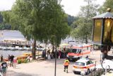 Titisee_018_06212018 - Looking towards some kind of medical emergency that was taking place just as we were having our lunch at Bergsee in Titisee