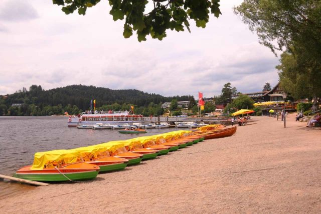 Titisee_036_06212018 - Less than a half-hour drive from Todtnau Waterfall was the relaxing Titisee, which provided ample recreational opportunities on the lake as well as some diversions from shops to eateries to even an amusement park along the main drag