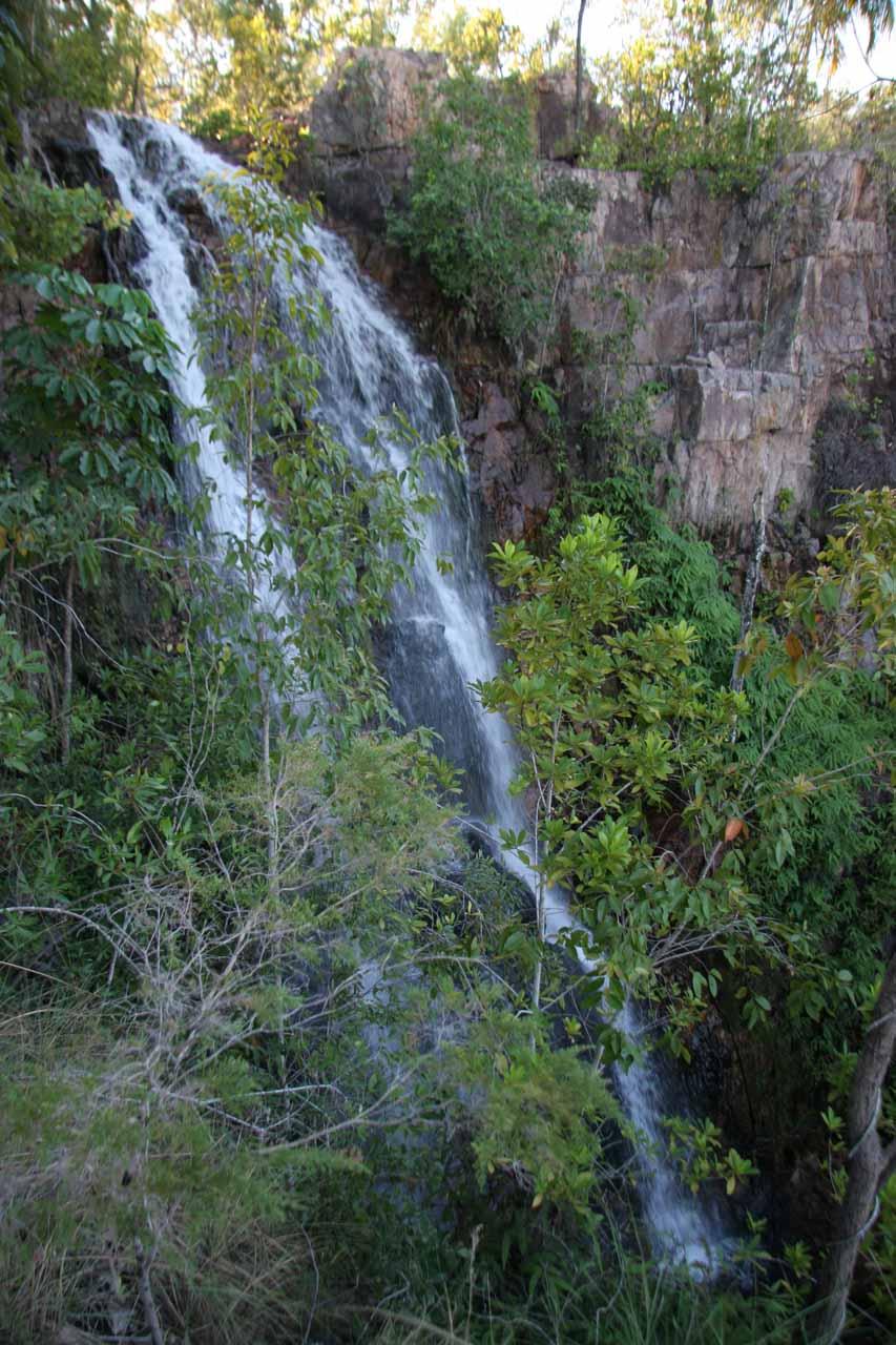Closer look at Tjaetaba Falls