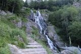 Todtnau_Waterfall_026_06212018 - The steps leading up to the left here would climb up several switchbacks on the way up to the top of the Todtnau Waterfall as well as to the upper car park near Todtnauberg