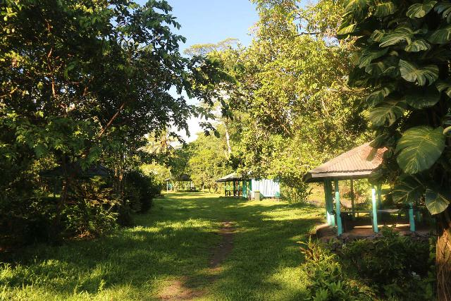 Togitogiga_Waterfall_012_11112019 - Inviting picnic fales by the Togitogiga Waterfall