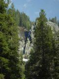 Tokopah_Falls_006_05272005 - An ephemeral waterfall across the valley