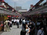 Tokyo_013_jx_05212009 - A busy pedestrian area around the Senso-ji Temple