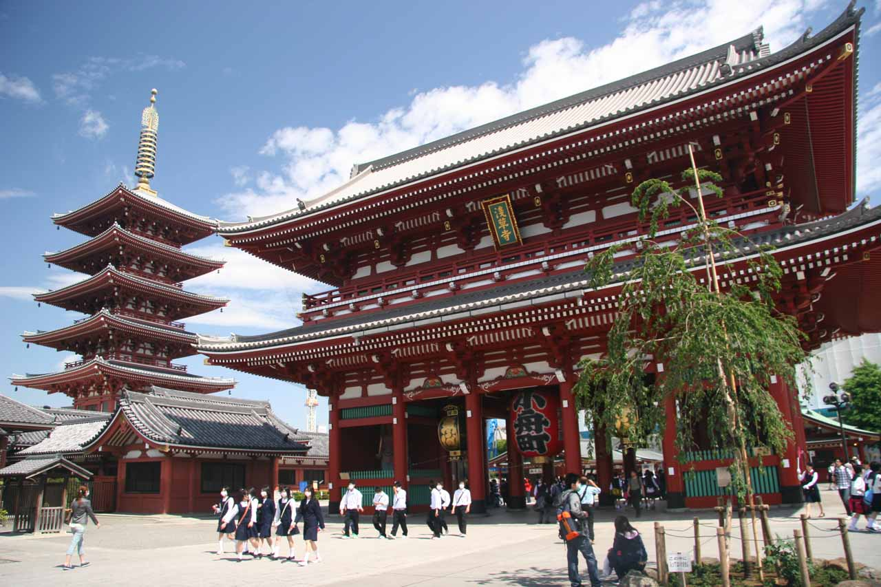The Senso-ji Temple