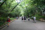 Tokyo_073_05212009 - Julie walking in Ueno Park in Tokyo
