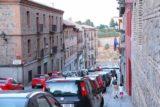 Toledo_354_06012015 - Julie and Tahia descending towards the Rio Tajo and the Alcantara Bridge