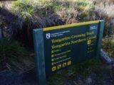 Tongariro_Crossing_006_11182004 - The sign at the start of the Tongariro Crossing