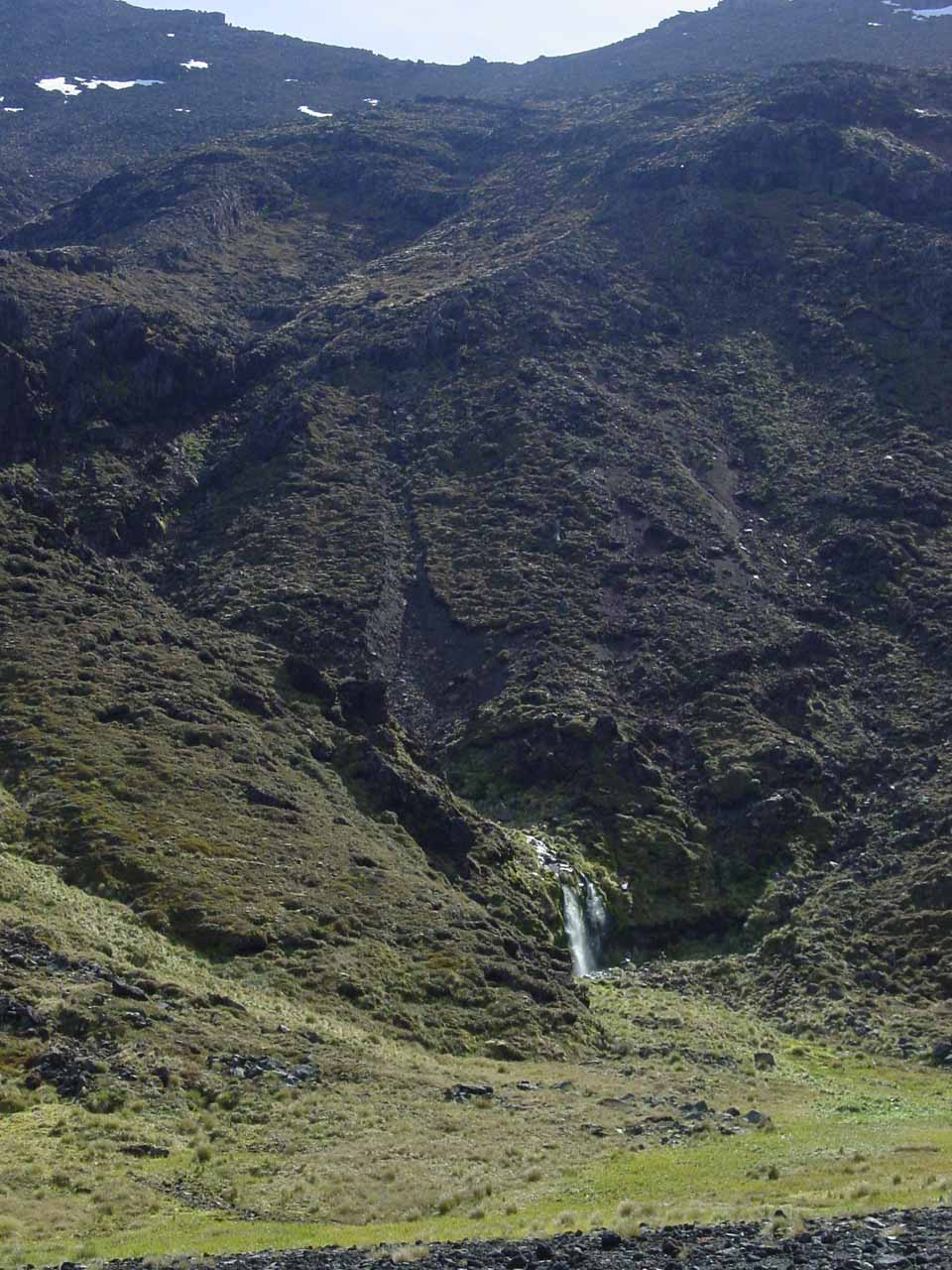 Distant view of Soda Spring in context