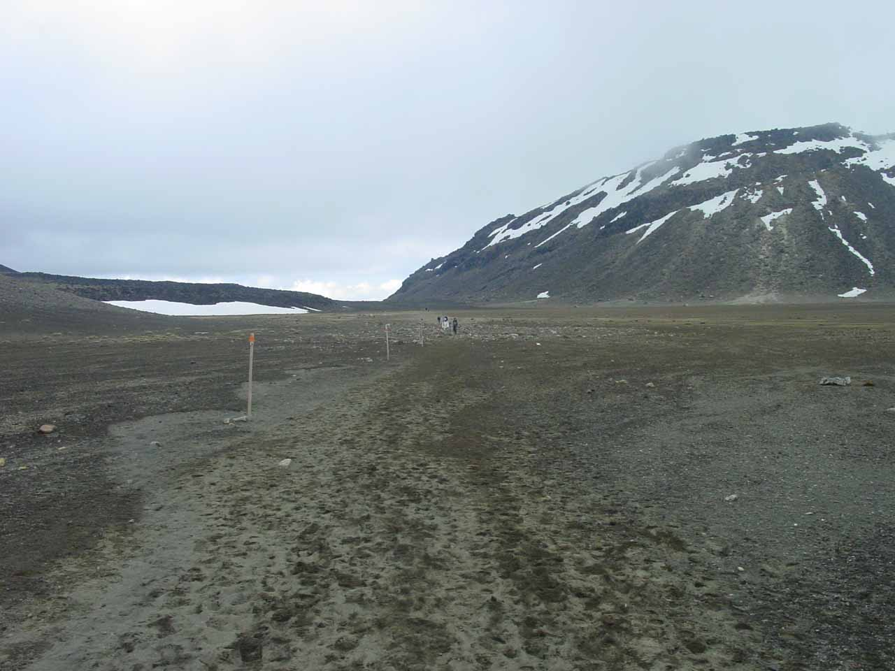 Still continuing through the long stretch of flat terrain that was the South and Central Craters
