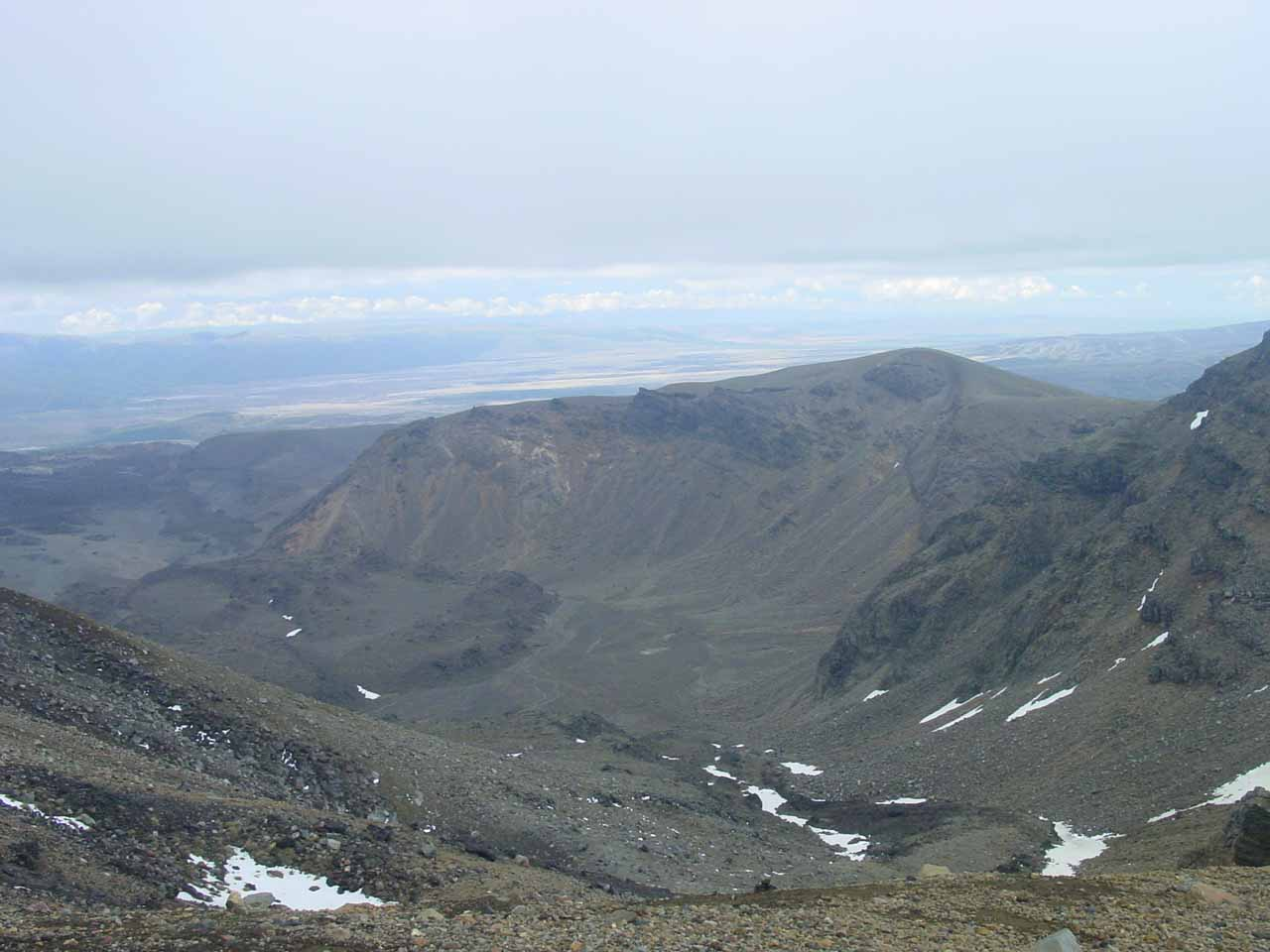 More mindblowing scenery while on the Tongariro Crossing's upper elevations