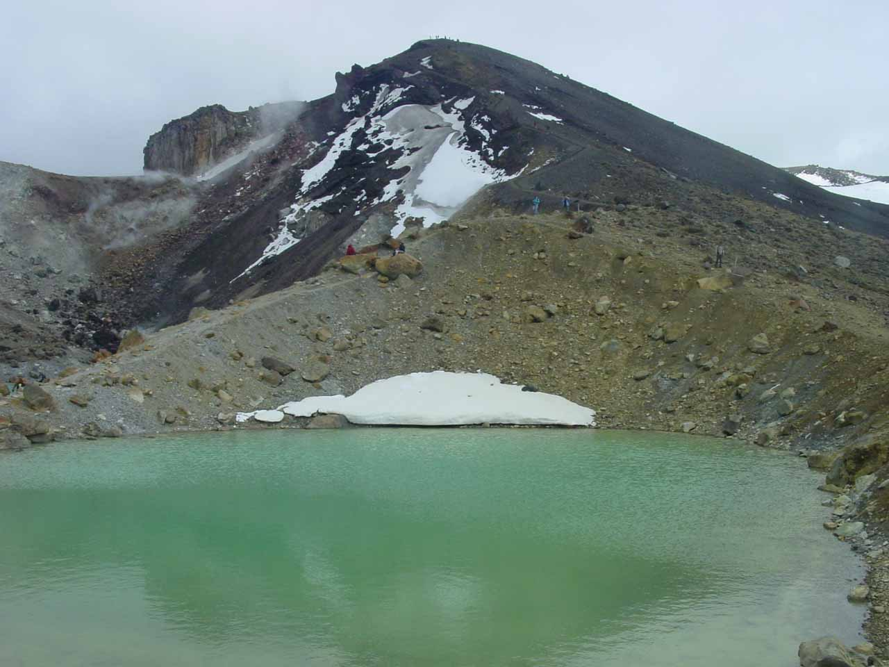 Close by one of the Emerald Lakes