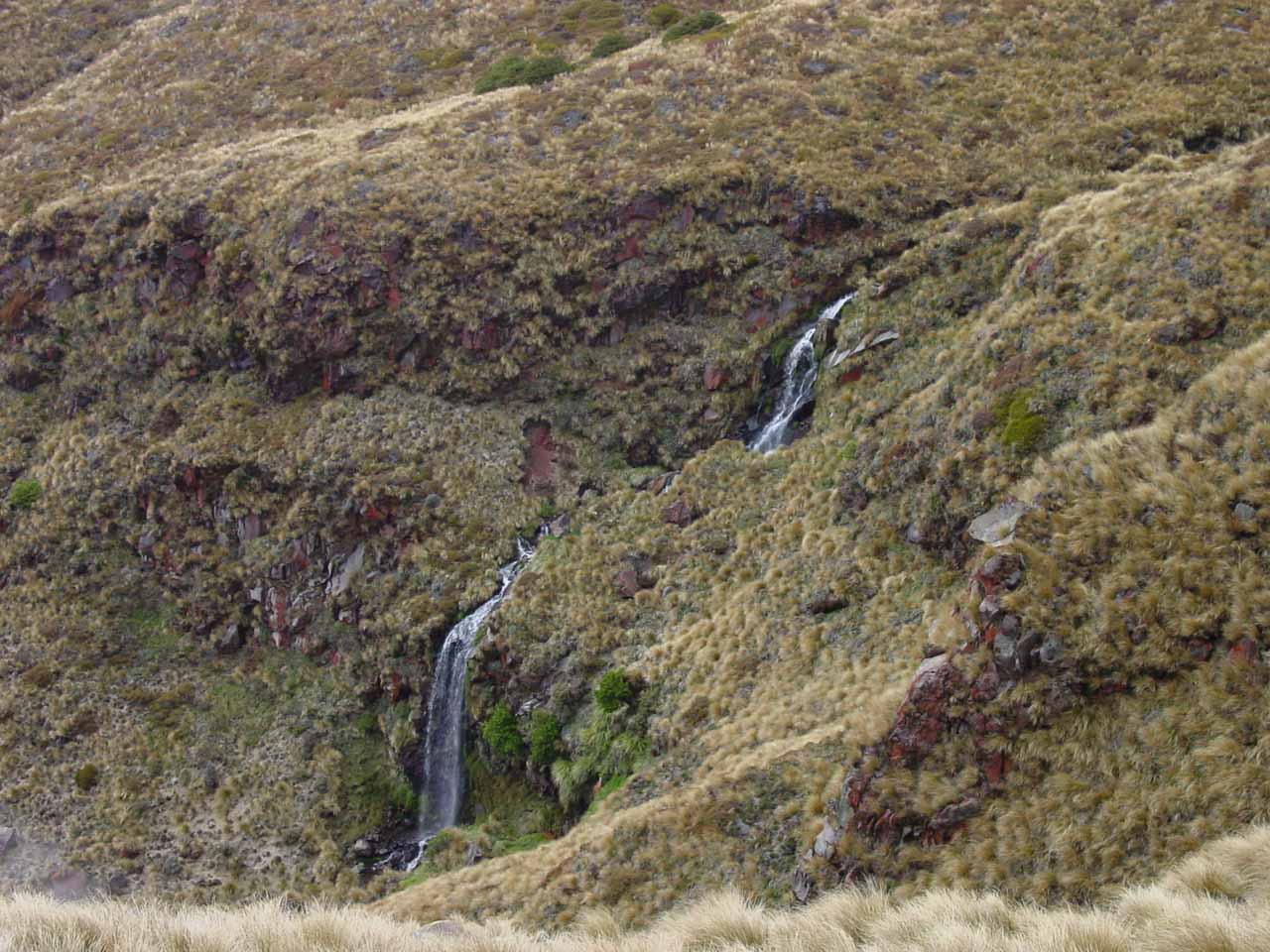 One of the waterfalls we encountered while doing the Tongariro Crossing