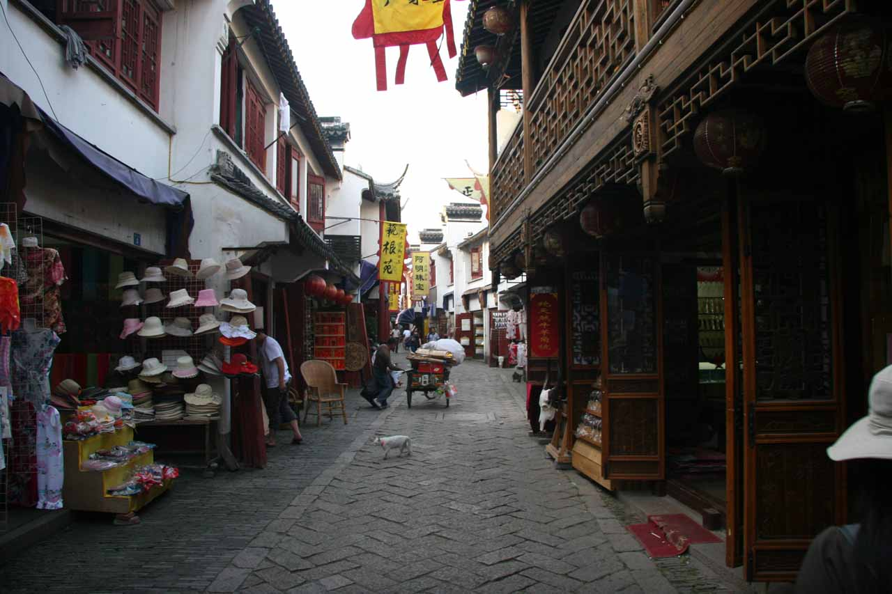 Some shops in Tongli
