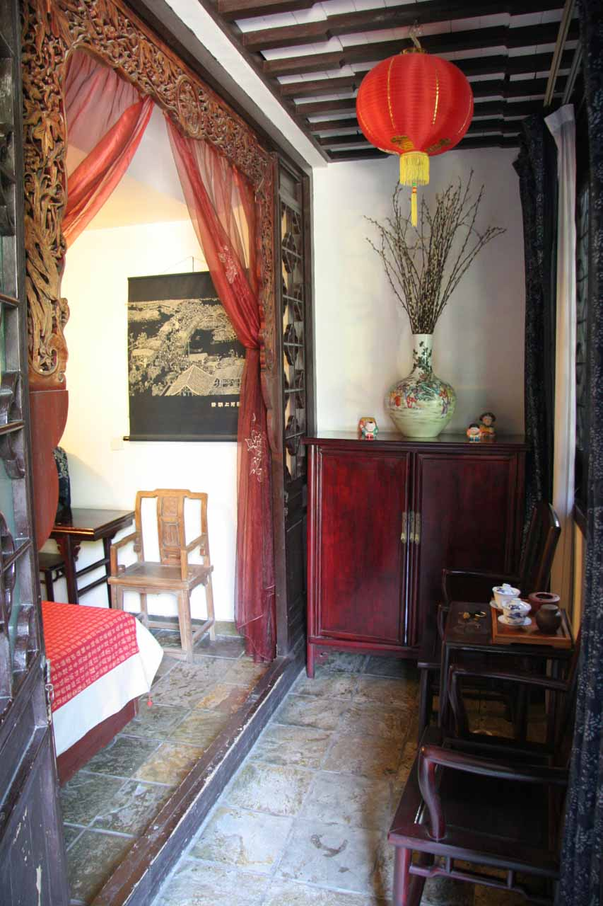Our charming traditional styled accommodation in Tongli