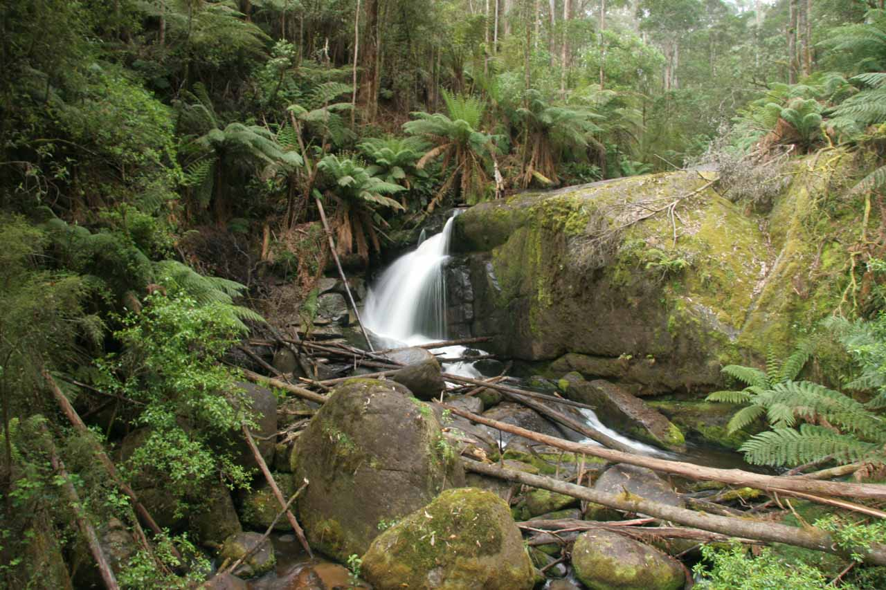This was the Amphitheatre Falls as seen on our first visit back in November 2006