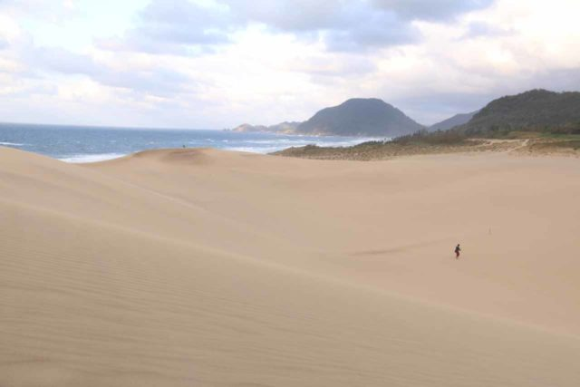 Tottori_Sand_Dunes_109_10222016 - The Tendaki Falls was about 70km or under 2 hours drive southeast of the Tottori Sand Dunes, which was one of Japan's more unusual and surprising features