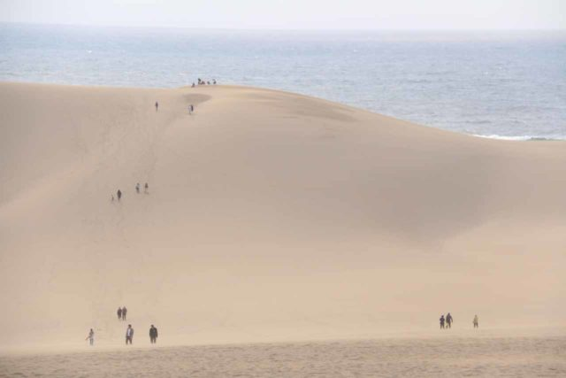 Tottori_Sand_Dunes_138_10222016 - The Harafudo Falls was about 2 hours drive south of the northern coastal city of Tottori, which was best known for its impressive sand dunes
