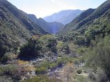 Trail_Canyon_Falls_003_12302002 - Looking back at Trail Canyon after going partway up the climbing section of the trail in December 2002