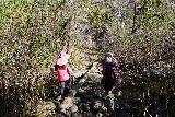 Trail_Canyon_Falls_077_02082020 - One of the last of the creek crossings on the way to Trail Canyon Falls in February 2020