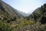 Trail_Canyon_Falls_082_02082020 - Looking back at Trail Canyon as the trail made a long climb in the hot sun even though our hike took place in February 2020