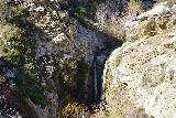 Trail_Canyon_Falls_134_02082020 - A more focused look at the Trail Canyon Falls from the main trail during our February 2020 visit